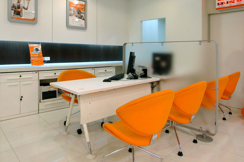 Moreover The Customer Service Workstation Design Can Represent Image Of Organization And Function Furniture Also Support Usage
