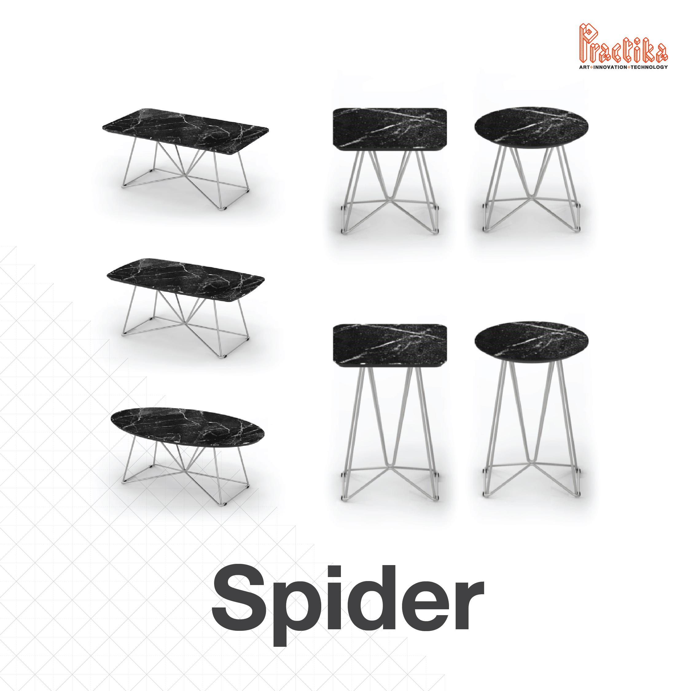 ผลิตภัณฑ์ใหม่จากแพรคติก้า โต๊ะรุ่น SPIDER